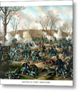 Battle Of Fort Donelson Metal Print