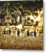 Battle Of Gettysburg Metal Print