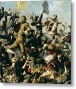 Battle Of Little Bighorn Metal Print