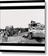 Battle Of Stalingrad 1943 Color Added 2016 Metal Print