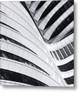 Battle Of The Curves Metal Print