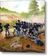 Battle Of Utoy Creek Metal Print