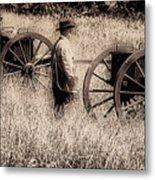 Battle Ready - Gettysburg Metal Print