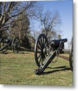 Battlefield At Fredericksburg Metal Print