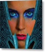 Battlemaid Metal Print