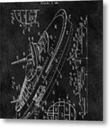 Battleship Patent Metal Print