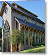 Baughman Meditation Center - Outside Metal Print