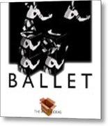 Bauhaus Ballet Poster Metal Print by Charles Stuart