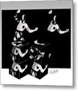 Bauhause Ballet Metal Print