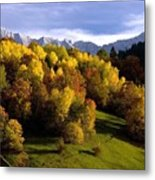 Bavarian Alps 2 Metal Print