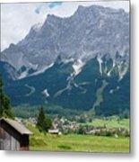 Bavarian Alps Landscape Metal Print