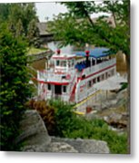 Bavarian Belle Rocks Metal Print