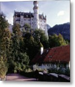 Bavarian Castle Metal Print