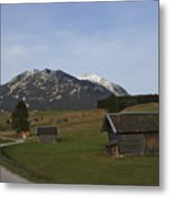Bavarian Valley Metal Print