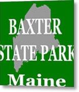 Baxter State Park Pride Metal Print