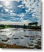 Bay At Low Tide In Clonakilty In Ireland Metal Print