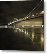 Bay Bridge San Fransico Metal Print