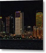 Bay City Metal Print