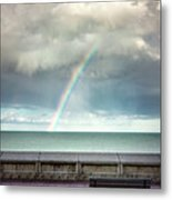 Bay Of Rainbows Metal Print