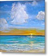 Bay Of Tranquility Metal Print