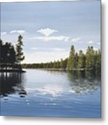 Bay On Lake Muskoka Metal Print
