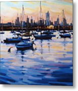 Bay View II Metal Print
