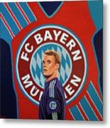 Bayern Munchen Painting Metal Print