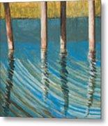 Bayland Reflections Metal Print