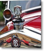 Bayliss Thomas Badge And Hood Ornament Metal Print