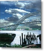 Bayonne Bridge Metal Print