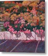 Bayside Flowers Metal Print