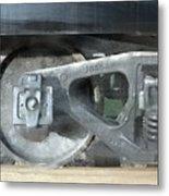 Baytown Boxcar Metal Print