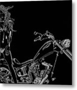 Bb Four Metal Print