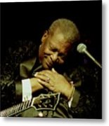 Bb King - Straight From The Heart Metal Print