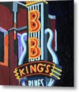 Bb King's Blues Club Metal Print