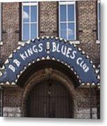 B.b. King's Blues Club Metal Print