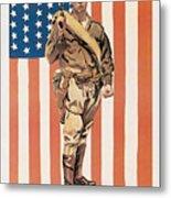 Be A U.s. Marine Metal Print