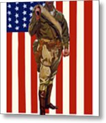 Be A Us Marine Metal Print
