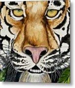 Be Like A Tiger Metal Print
