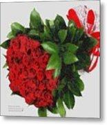 Be Mine Valentine By Presidential Candidate Catherine Lott Metal Print