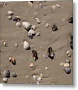 Beach 1121 Metal Print