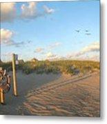 Beach Access 30 Metal Print