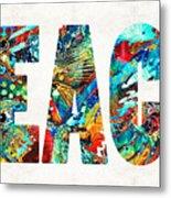 Beach Art - Beachy Keen - By Sharon Cummings Metal Print