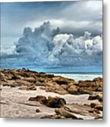 Beach At Washington Oaks Metal Print