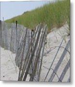 Beach Border Metal Print by Patricia M Shanahan