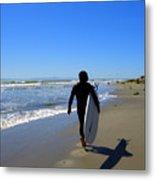Beach Boy 1 Metal Print