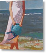 Beach Breeze Metal Print