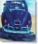 Beach Bug Metal Print
