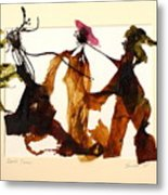 Beach Dance Metal Print