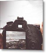 Beach Digital Photography Metal Print